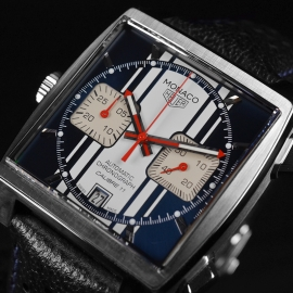 Tag Heuer Monaco Calibre 11 Steve McQueen Limited Production Close3