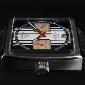 Tag Heuer Monaco Calibre 11 Steve McQueen Limited Production Close4