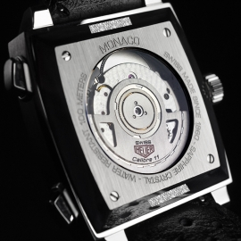 Tag Heuer Monaco Calibre 11 Steve McQueen Limited Production Close6