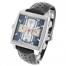 Tag Heuer Monaco Calibre 11 Steve McQueen Limited Production Back