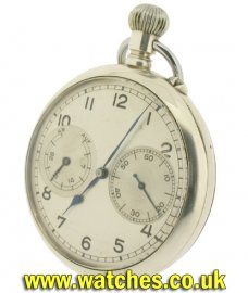 A Lange & Sohne Vintage Navy Pocket Watch