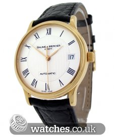 Baume & Mercier Classic Gents Dress Watch Gold