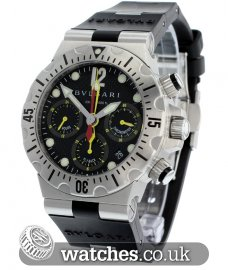 Bulgari Diagono Professional Scuba Chrono Fly Back