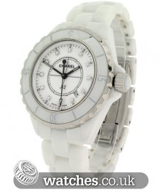 Chanel Ladies J12 White