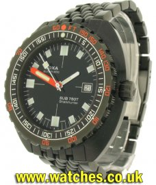 Doxa Sharkhunter 750T Military Limited Edition PVD