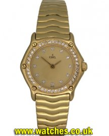 Ebel Ladies Sport Classic 18ct Gold/Diamonds