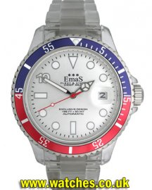 EmaS Diver Silver Dial Automatic