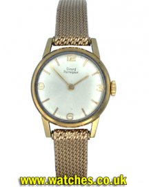 Girard Perregaux Vintage Ladies Dress Watch 18ct