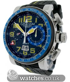 Graham Silverstone Stowe GMT Blue & Yellow Limited Edition