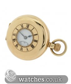 J W Benson Vintage 9ct Pocket Watch