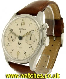 Lemania Vintage Royal Navy Chronograph