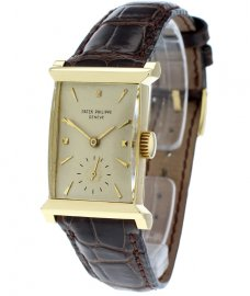 Patek Philippe Vintage Rectangular 18ct