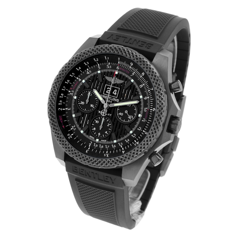 Breitling Bentley 6.75 Midnight Carbon Limited Edition