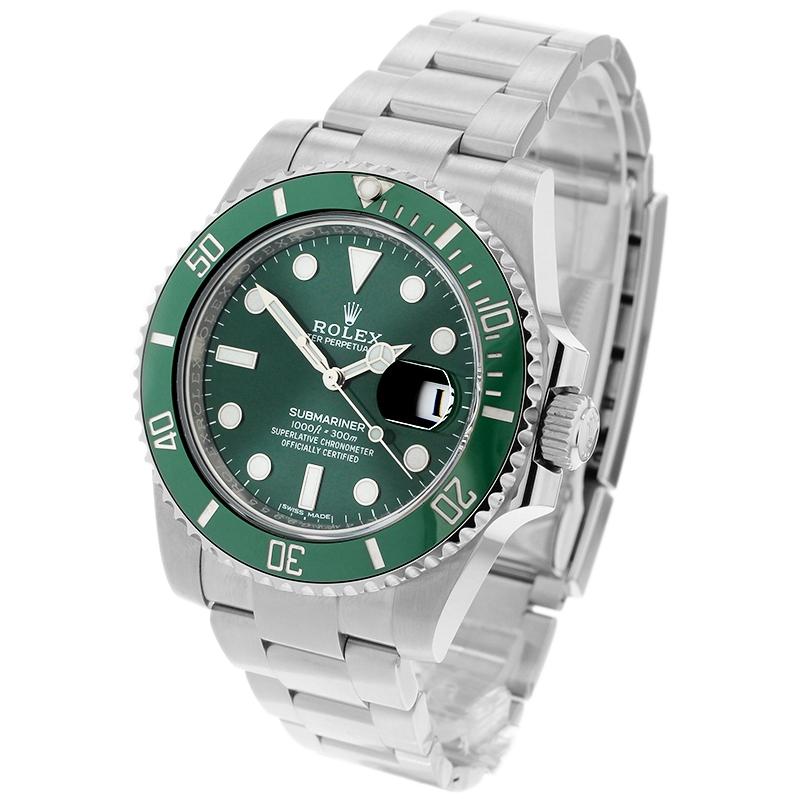 Rolex Submariner Date Green Bezel 2018 Watch , 116610LV