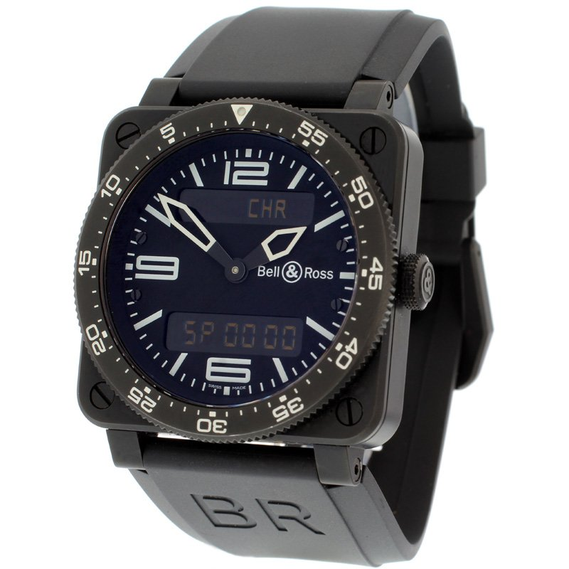 Bell & Ross BR 03 Type Aviation Black