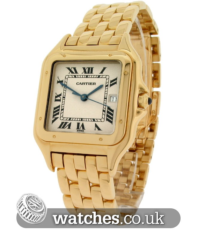 cartier panthere 18ct gold large size w25014b9