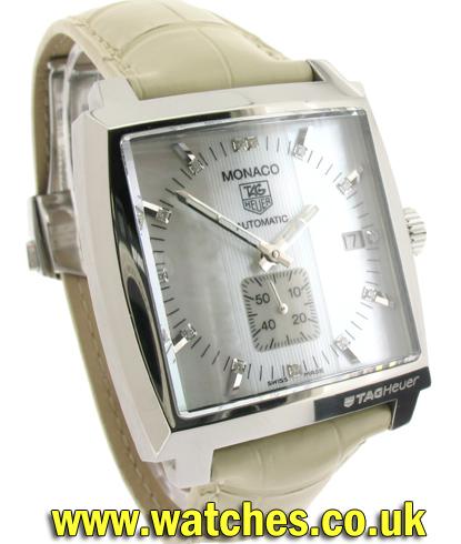 Ladies Tag Heuer Monaco Watches