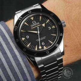 OM22653S Omega Seamaster 300 Master Co Axial SPECTRE Limited Edition Wrist