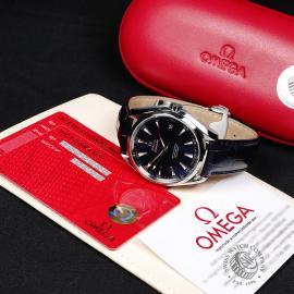 OM21822S Omega Seamaster Aqua Terra Box