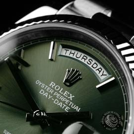 RO22121S Rolex Day-Date 40 White Gold Close3