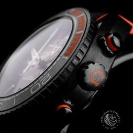 OM22262S Omega Seamaster Planet Ocean Chronograph 'Deep Black' Close7