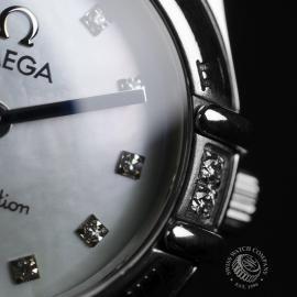 18013S Omega Ladies Constellation My Choice Mini Quartz Close9