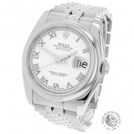 RO21956S Rolex Datejust 36 Back