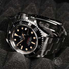RO823F Rolex Vintage Submariner Date 'Single Red' Box