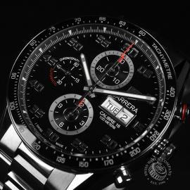 21452S Tag Heuer Carrera Calibre 16 Day-Date Chrono Close4