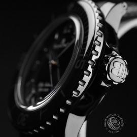 BL19823S Blancpain Black Knight Fifty Fathoms Automatic Close3