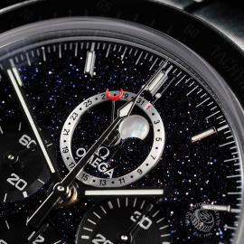 OM22648S Omega Speedmaster Moonphase Chronograph Close9