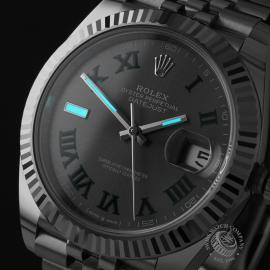 RO22173S Rolex Datejust 41 Unworn Close1