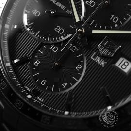 TA19959S Tag Heuer Link Calibre 16 Chrono Close5
