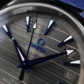OM21203S Omega Seamaster Aqua Terra Co-Axial Master Chronometer Close5 1