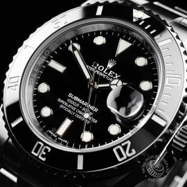 RO21813S Rolex Submariner Date Ceramic Close2