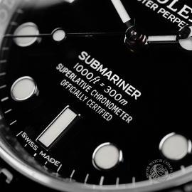 RO21854S Rolex Submariner Non Date Close4