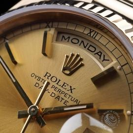 RO21640S Rolex Day-Date President 18238 Close2