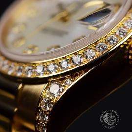 RO21016S Rolex Ladies Datejust 18ct Close7