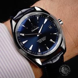 OM21822S Omega Seamaster Aqua Terra Wrist