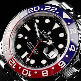 RO22120S Rolex GMT Master II BLRO Close10