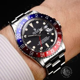 RO1899P Rolex Vintage GMT-Master Wrist