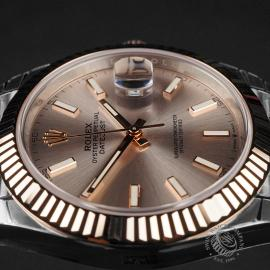 RO22620S Rolex Datejust 41 Unworn Close6