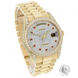 RO1927P Rolex Day-Date President 'Diamond' Dial