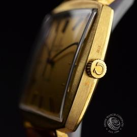 OM18522S Omega Vintage De Ville Automatic 18ct Close3