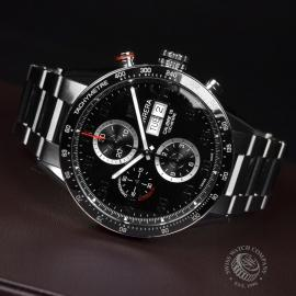21452S Tag Heuer Carrera Calibre 16 Day-Date Chrono Close10