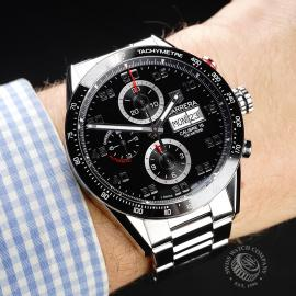 TA21988S Tag Heuer Carrera Calibre 16 Day-Date Chrono Wrist