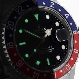 RO20324S Rolex GMT Master II - Stick Dial Close1