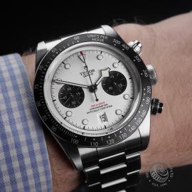 TU22354S Tudor Black Bay Chronograph Unworn Wrist