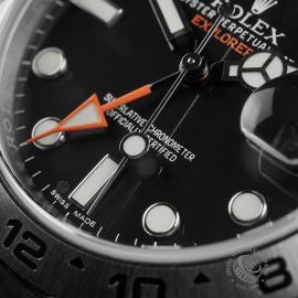 RO22374S Rolex Explorer II Orange Hand Close4