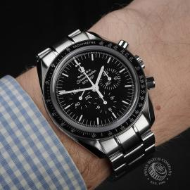 OM22353S Omega Speedmaster Professional Moonwatch '50th Anniversary' Wrist